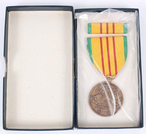 Vietnam War Vietnam Service Medal unissued dated 1969
