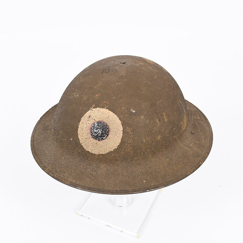 WWI US Army AEF 37th Infantry Division helmet