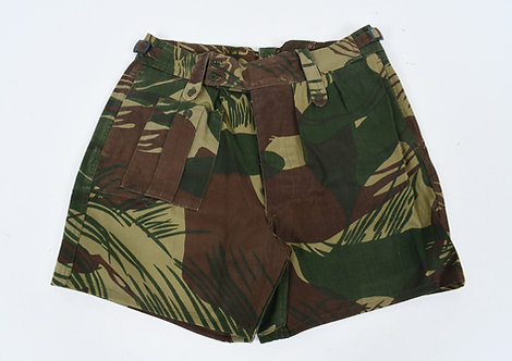 Rhodesian Army Cutdown Camo Shorts