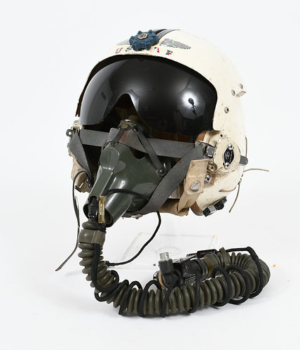 VIETNAM WAR USAF PILOT HGU-2A/P & MBU-5/P OXYGEN MASK