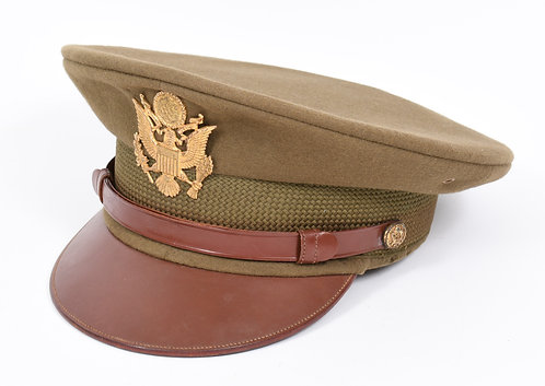 WWII US Army Officer wool dress hat