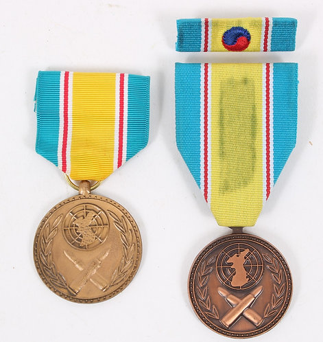 US Army named NCO Republic of Korea War service Medal lot