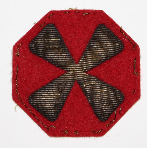 WWII ETO US 8th Army theater made bullion patch