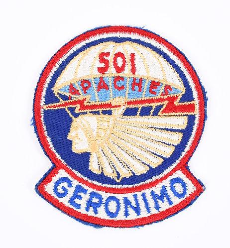 Korea War US Army 501st Parachute Infantry Regiment patch