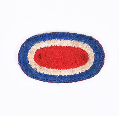 WWII US Army 82nd Airborne Headquarters Parachute oval patch