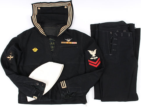 WWII US Navy Aircrew named uniform