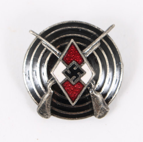 WWII German Hitler Youth Marksman pin RZM M1/14