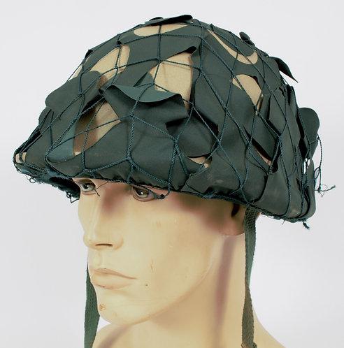 Iraqi Army combat helmet & camo net