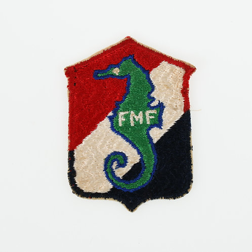WWII USMC 13th Marine Defense Battalion Variation shoulder patch