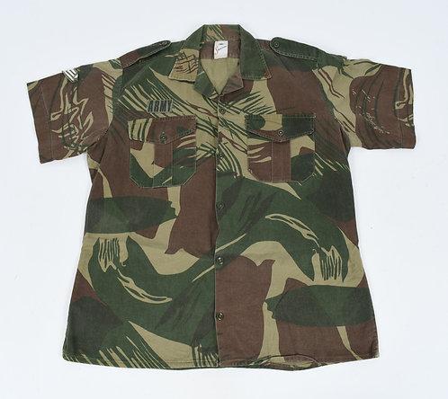 Rhodesian Army NCO Short Sleeves camo Shirt by Statesman