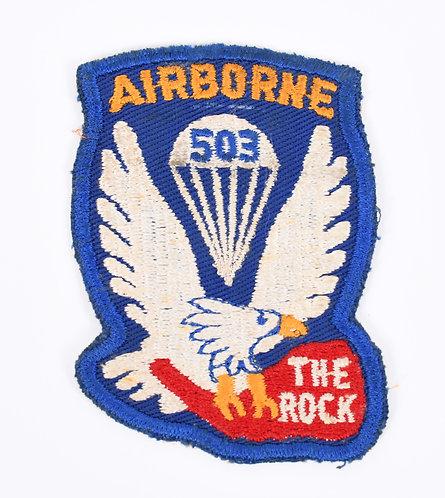 Korea War 503rd Parachute Regimental Combat team patch
