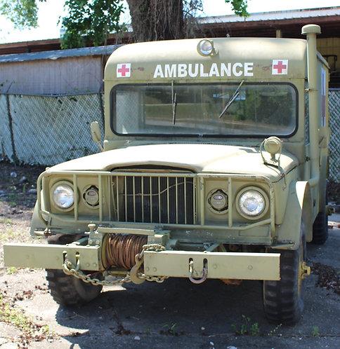 Vietnam War 1969 M725 Jeep Kaiser Ambulance