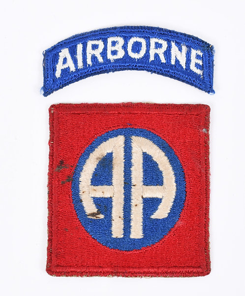 WWII US Army 82nd Airborne Division Paratrooper shoulder patch