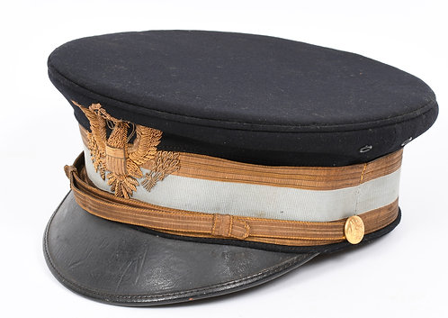 Span-Am War US Army M1902 named Infantry Officer dress hat