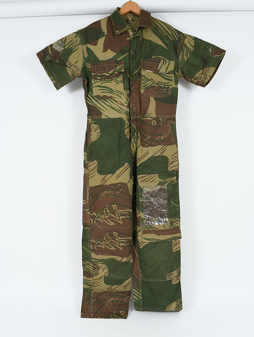 Rhodesian Air Force Pilot Flight Suit Short Sleeves Coverall by Trako