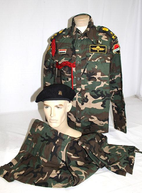 IRAQI Brigadier General Fedayeen saddam uniform grouping