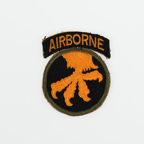 WWII 17th Airborne Division Paratrooper shoulder patch