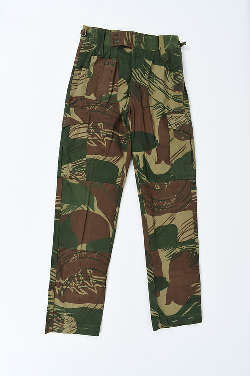 Rhodesian Army Type III Camo Pants by Paramount Dated 1979
