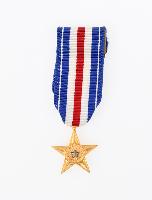US Armed Forces Silver Star mini medal
