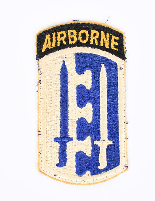 WWII US Army 2nd Airborne Infantry Brigade patch
