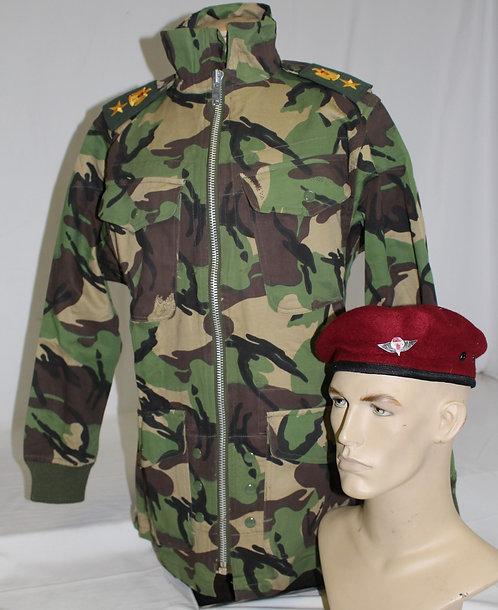 Iraqi Army Paratrooper Officer jump smock jacket & beret