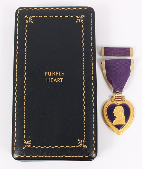 WWII US Army Purple Heart Medal with case