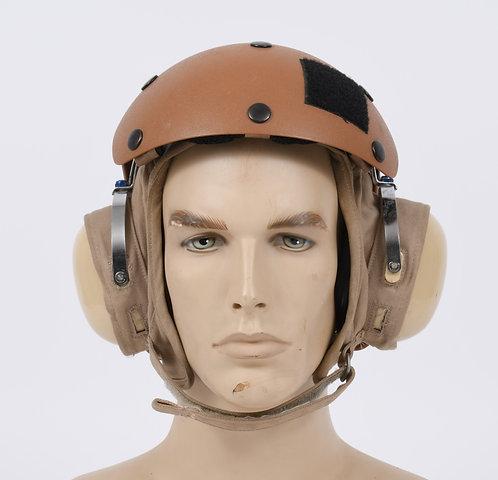 US Navy Flight Deck Aircrew brown helmet