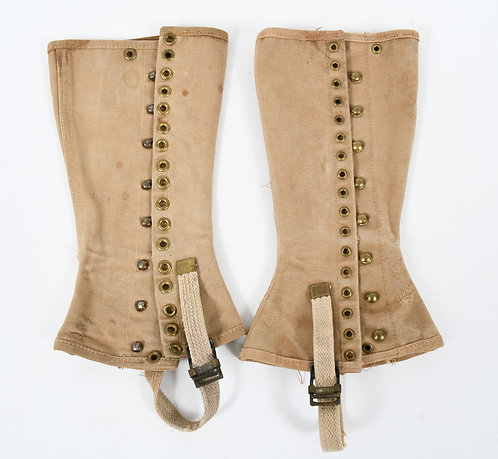 WWII US ARMY GAITERS