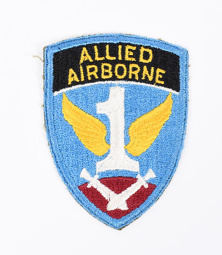 WWII US Army 1st Allied Airborne Paratrooper shoulder patch