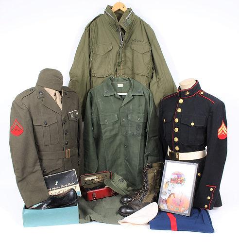 Vietnam War USMC Operation Eagle Pull Named uniform grouping