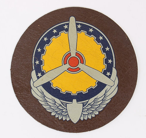 WWII AAF Air Service Command A2 Jacket leather patch