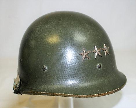 Desert Storm rare Iraqi Army named Naqib Officer combat helmet