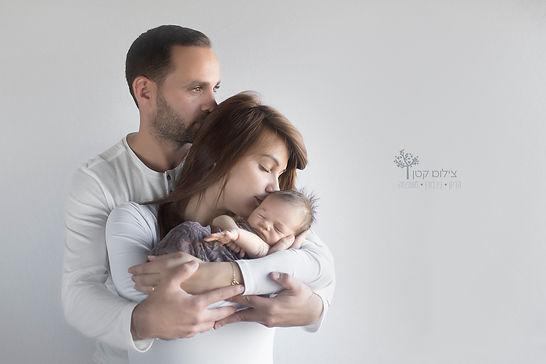 צילומי ניובורן  עם ההורים
