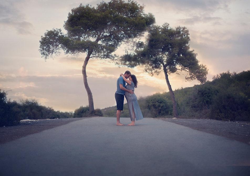 צילומי הריון בטבע - חיפה