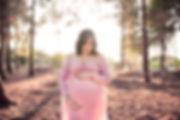 מה ללבוש לצילומי הריון בגליל - שמת שיפון ורודה
