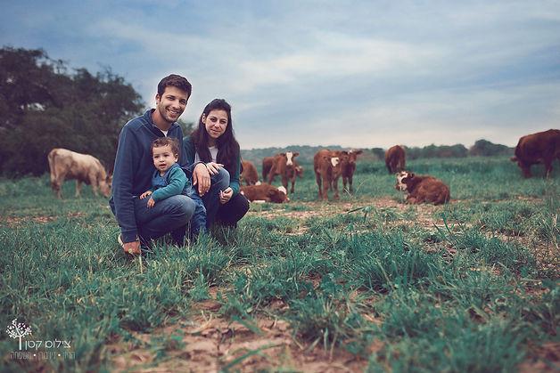 צילומי משפחה בצפון