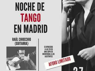 Concierto de tango de Romina Balestrino