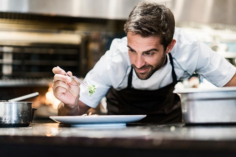 chef photography. Restaurant content marketing.