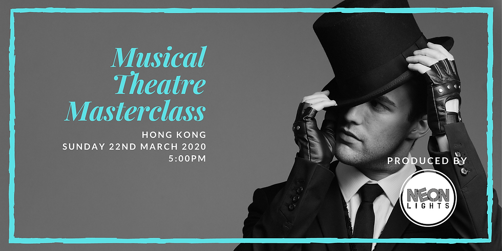 Musical Theatre Masterclass - Song and Dance