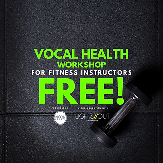 VOICE FOR FITNESS INSTRUCTORS