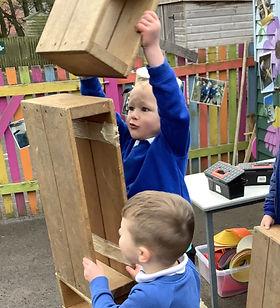 pupils at play