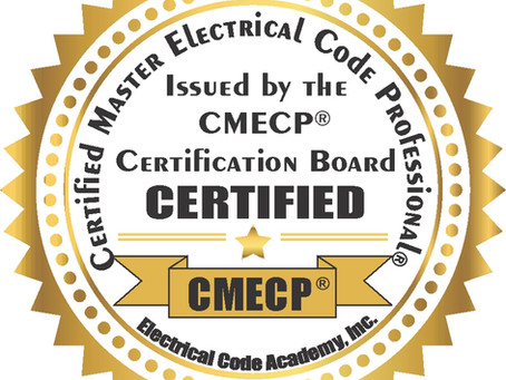 Certified Master Electrical Code Professional Program
