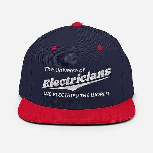Snapback Hat - We Electrify The World