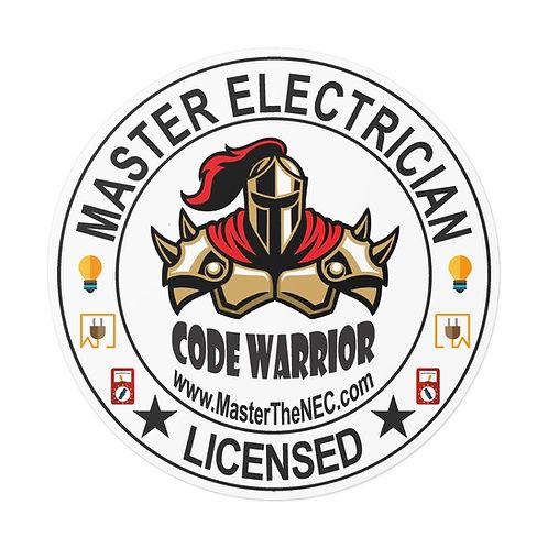 Outdoor Rated Vinyl Stickers   Code Warrior