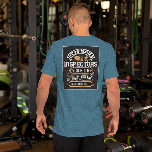 Short-Sleeve Unisex T-Shirt- Wrestling Inspectors