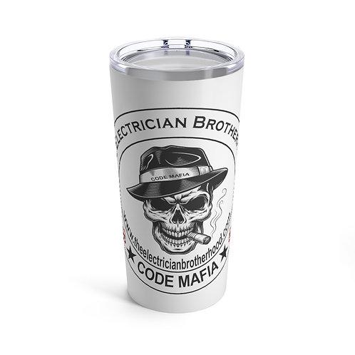 Tumbler 20oz   Skull Mafia