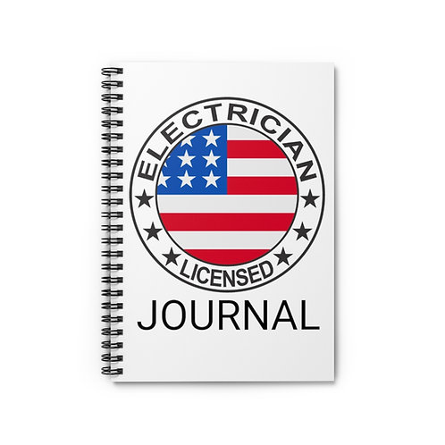 Electrician's Journal - Ruled Line