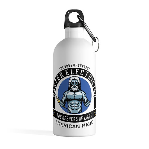Stainless Steel Water Bottle   Gods of Current   Master Electrician