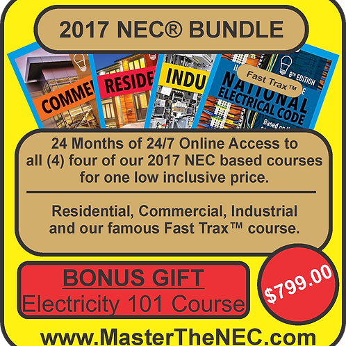 2017 NEC Bundle Package