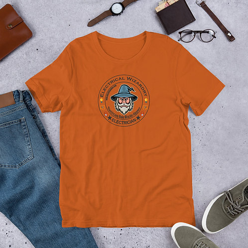 Short-Sleeve Unisex T-Shirt Front Only | Electrical Wizardry